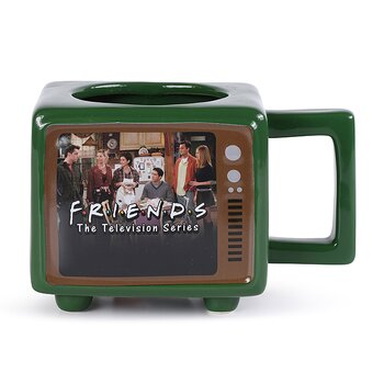 Friends Television Set Large Coffee Cup