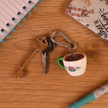 Friends Cappuccino Cup Key Chain