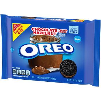 Oreos Chocolate Hazelnut cookies