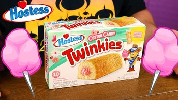 Hostess cotton candy twinkies 10 pack