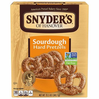 Snyder's Of Hanover, Sourdough Hard Pretzels