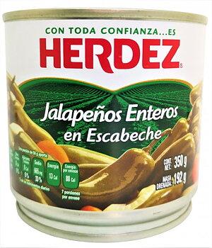 Chili Herdez jalapeños enteros