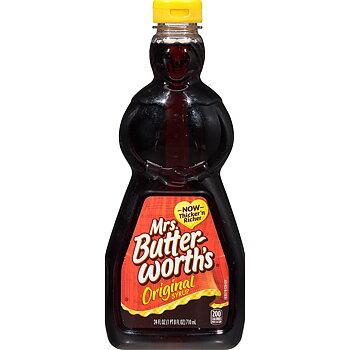 Mrs Butterworth Pancake Syrup