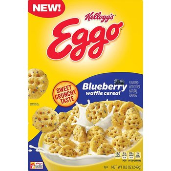 Kellogg's® Eggos Blueberry Waffle Cereal