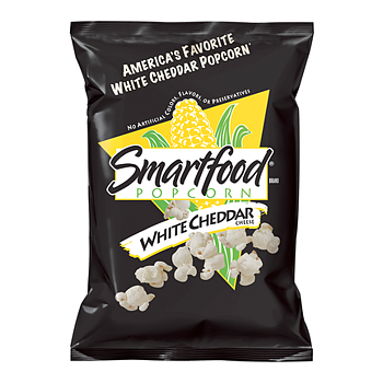 Smart Food Popcorn White Cheddar