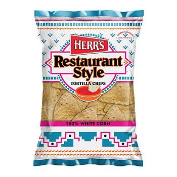 Herrs White Corn Tortilla Chips
