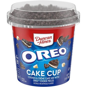 Duncan Hines Oreos Cake Mix In A Cup