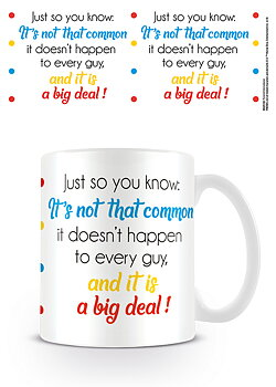 Just so you know cup