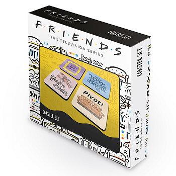 Friends set coasters 4 pack