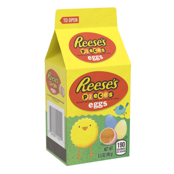 Reese's Pieces Pastel Eggs Mini Carton
