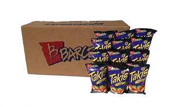 Full case of 40 bags of Takis Fuego - 68gr. each