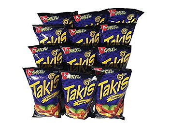 3 bags of Takis Fuego - 68gr. each