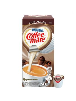 Coffee-Mate Cafe Mocha Liquid Creamer (50 Servings)