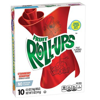 Fruit Roll Up Strawberry Sensation