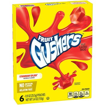 Fruit Gushers Strawberry Splash