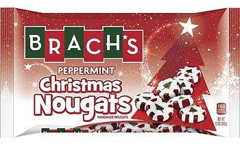 Brachs Christmas Peppermint Nougats