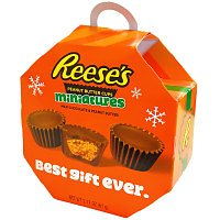 Reeses mini peanut butter cup Christmas Ornament