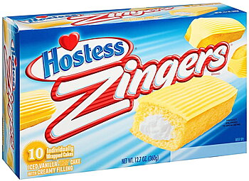 Hostess Zingers Vanilla 10 pack
