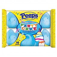 PEEPS Party Cake Marshmallow Chicks 10 Pack