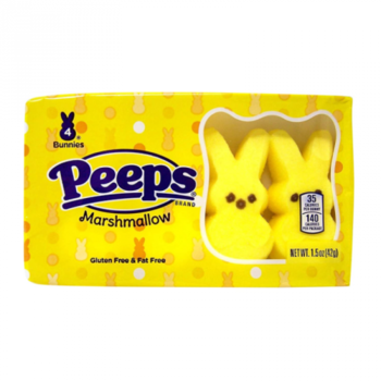 Peeps® Easter Yellow Bunnies 4 Pack