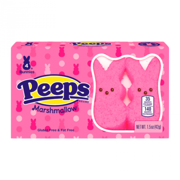 Peeps® Easter Pink Bunnies 4 Pack