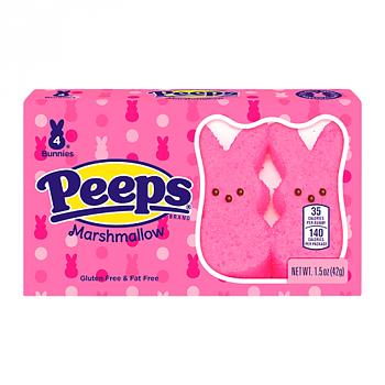 Peeps® Easter Pink Bunnies 4 Pack