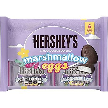 HERSHEY'S Chocolate Covered Marshmallow Eggs; 6 Pack