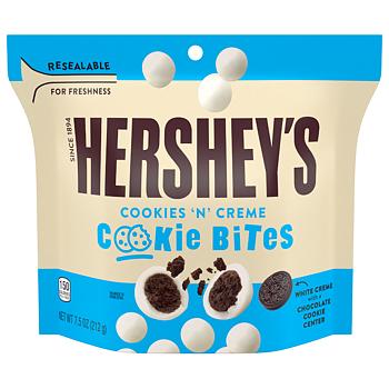 Hershey's cookies & creme cookie bites