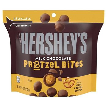 Hershey's chocolate pretzel bites