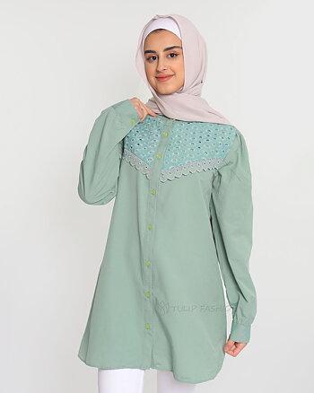 Abeer Skjorta - Grön