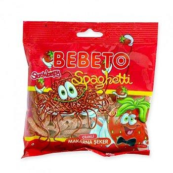 Bebeto Halal Sour jordgubb Spaghetti 80g