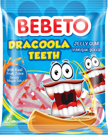Bebeto Halal Dracoola Teeth 80g