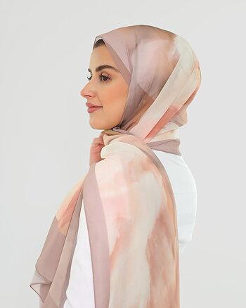 Hijab - Chiffon Verona - Nude Beige
