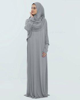 Bönekläder Nasma - Ljusgrå