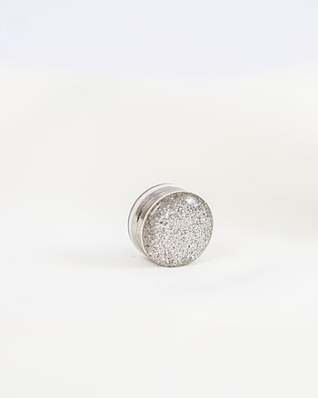 A pair Magnetic Hijab Pin - Sparkle Silver