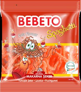 Bebeto Halal Sour Cola Spaghetti 80g
