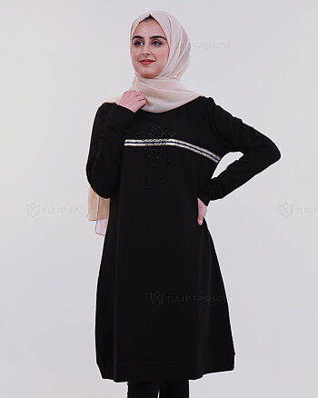 Star Tunic - Black