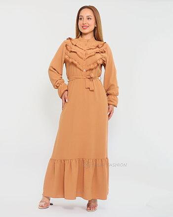 Kadi Dress - Cacao Brown