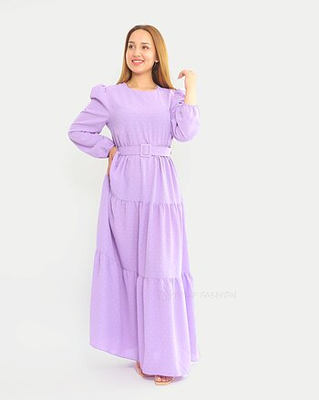 Vera Dress - Purple