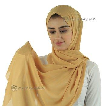 Hijab - Chiffon - Mustard