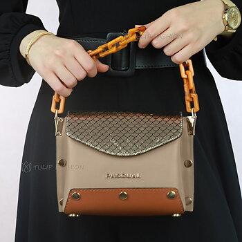 Perla Handbag - Beige