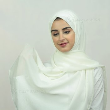 Hijab - Crepe Jazz - Off-White