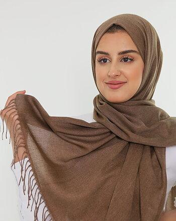 Hijab - Pashmina - Brown