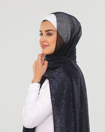 Hijab - Elly Glitter - Midnattsblå