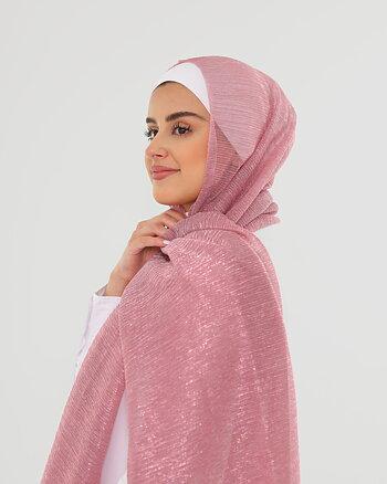 Hijab - Elly Glitter - Rosa