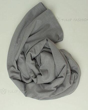 Hijab - Pure Viscose - Medium Gray
