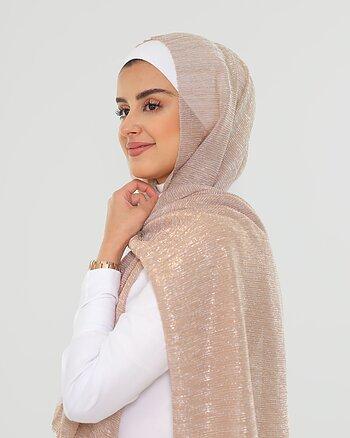 Hijab - Elly Glitter - Mauve