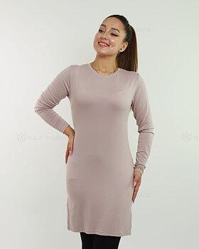 Basic långärmad tröja - Mauve