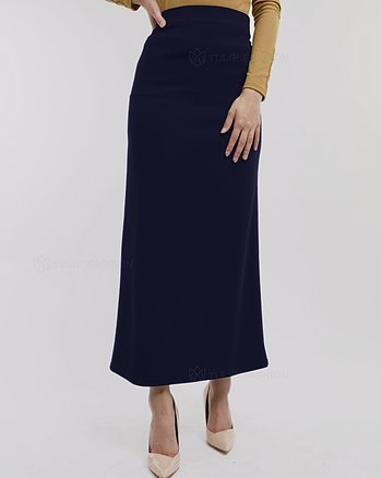 Anna Long Skirt - Midnight Blue