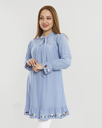 Lexie Tunic - Sky Blue